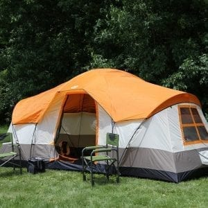 Tahoe Gear Olympia 10-Person 3-Season Family Camping Instant Tent
