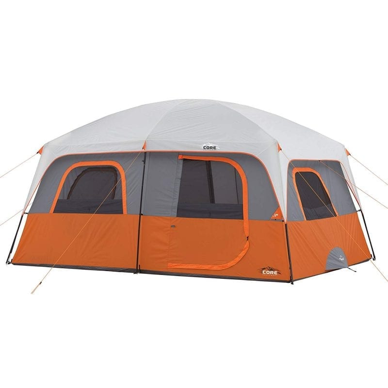 Instant Family Camping Tents core 10 person cabin instant tent